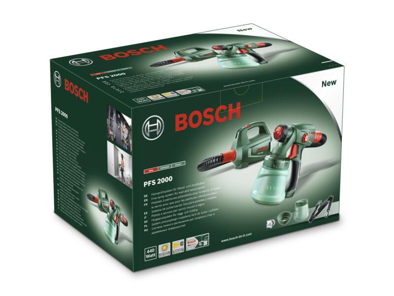 Bosch PFS 2000 verfspuit 440W