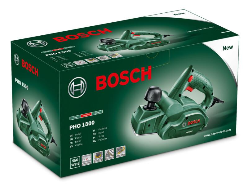 Bosch PHO 1500 rabot électrique 550W