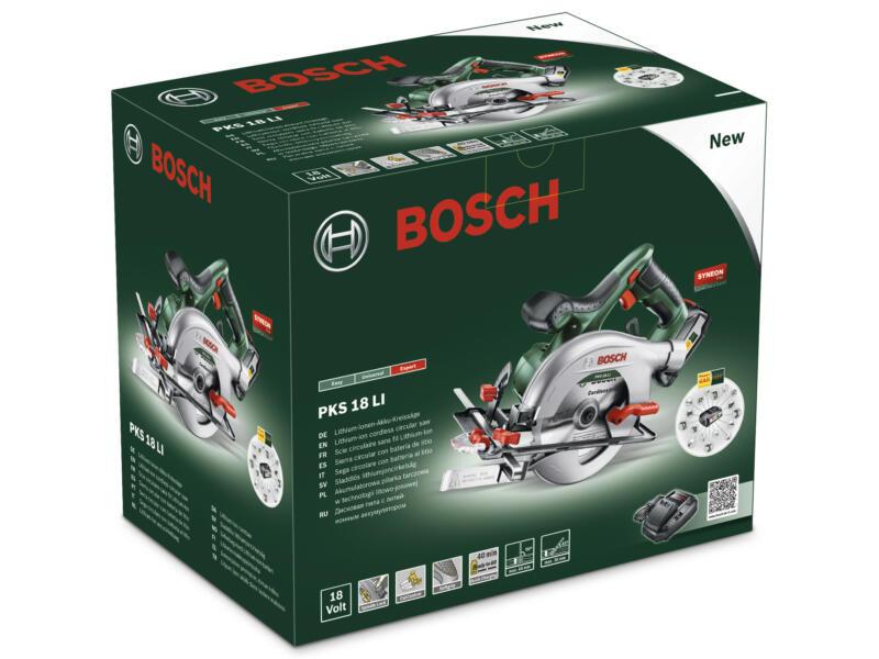 Bosch PKS 18 LI scie circulaire sans fil 18V Li-Ion 150mm