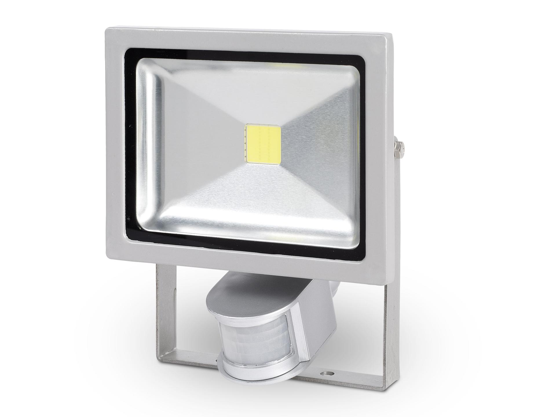 Extreem Powerplus POWLI231 LED straler met sensor 20W grijs   Hubo HS47