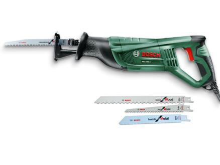 Bosch PSA 700 E reciprozaag 710W met 3 zaagbladen