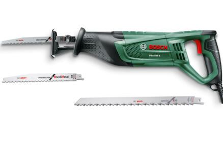 Bosch PSA 900 E reciprozaag 900W met 2 zaagbladen