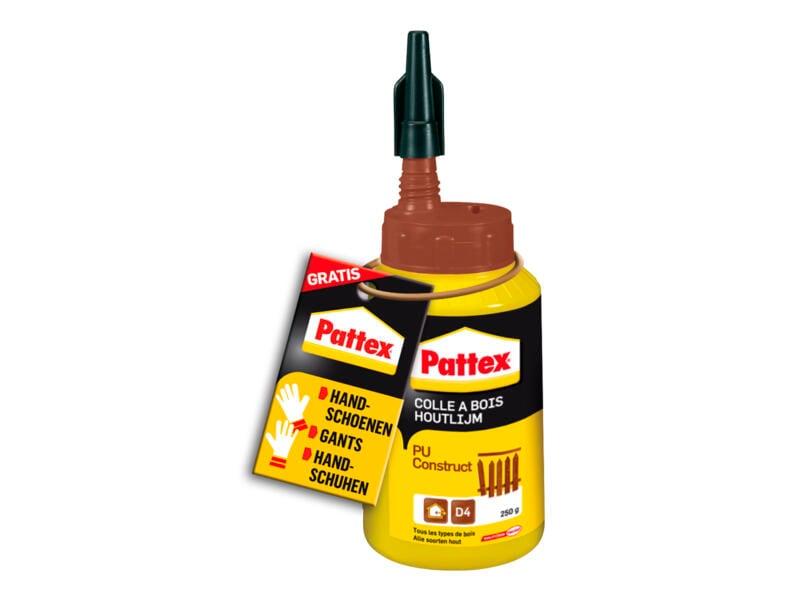 Pattex PU Construct colle à bois 250g