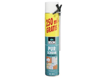 Bison PUR-schuim 500ml + 250ml gratis