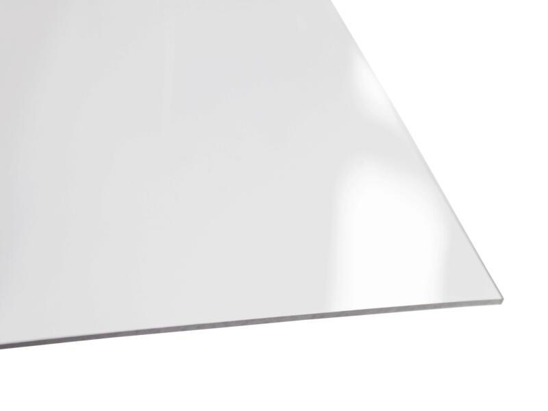 Scala PVC plaat 100x100 cm 2mm kristal