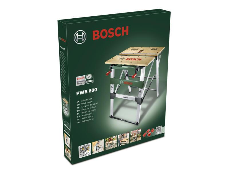 Bosch PWB 600 établi pliable 68cm 200kg