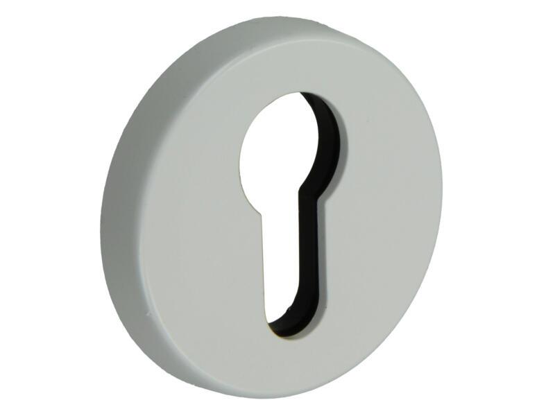 Yale PZ rosace pour cylindre profilé 51mm PVC blanc 2 pièces