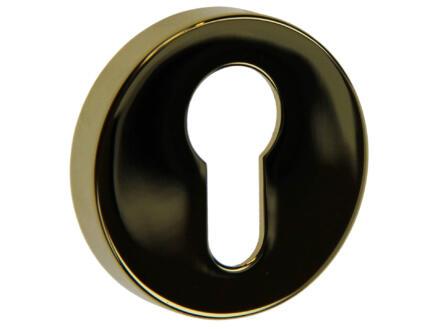 Yale PZ sleutelrozetset 50mm 6,4mm messing gepolijst