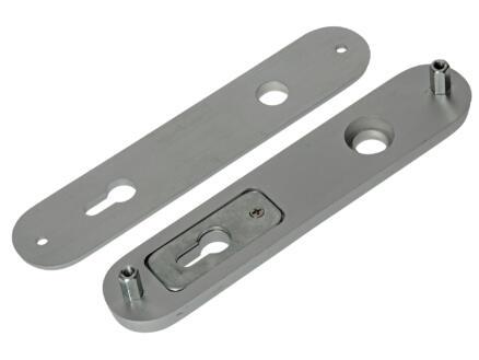 Yale PZ110 garniture de porte sécurité poignée-poignée avec accessoires de fixation