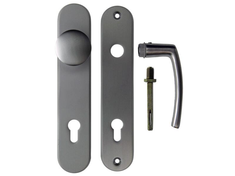 Yale PZ110 veiligheidsgarnituur met knop en klink