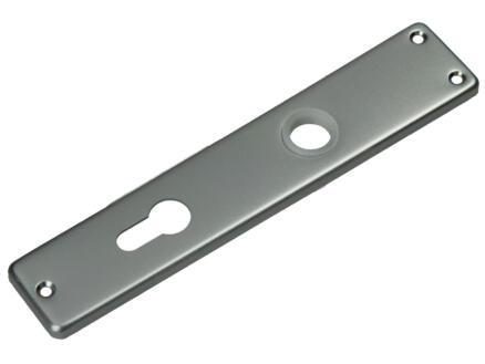 Yale PZ72 plaque poignée de porte 44mm aluminium 2 pièces