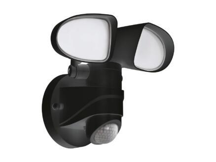 Eglo Pagino LED wandlamp 2x7,5 W met sensor zwart