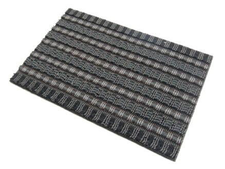 Paillasson Topaz 40x60 cm anthracite