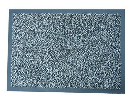 Paillasson antisalissant 40x60 cm anthracite