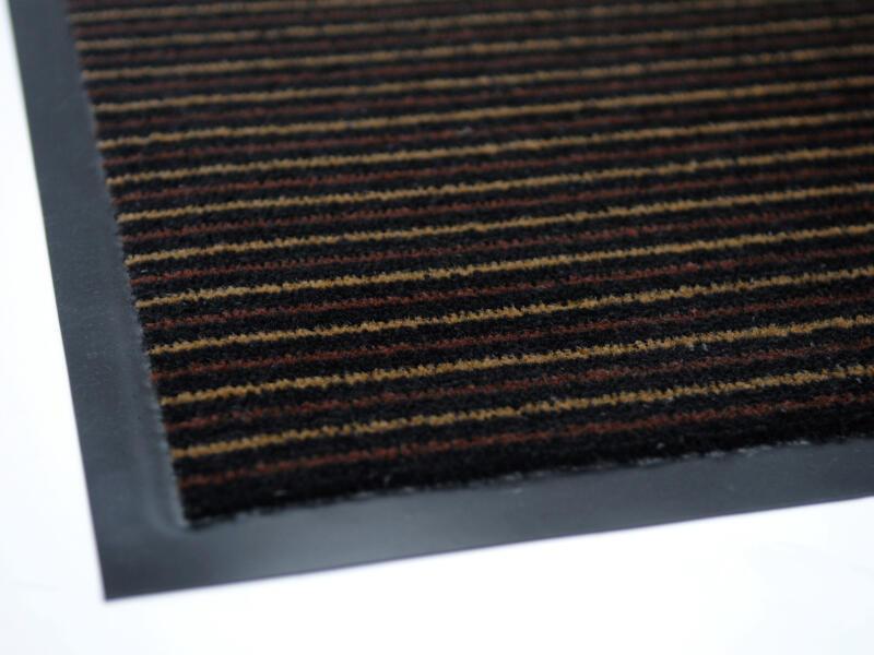Paillasson antisalissant lignes 40x60 cm beige