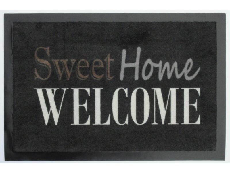 Paillasson antisalissant sweet home 40x60 cm