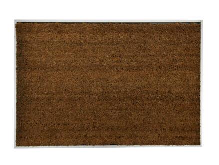 Paillasson coco avec cadre alu 40x60 cm