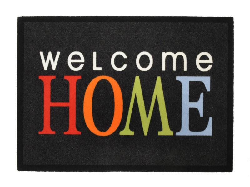 Paillasson déco welcome home 50x70 cm