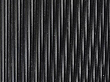 Paillasson en caoutchouc lignes 1m par mètre courant