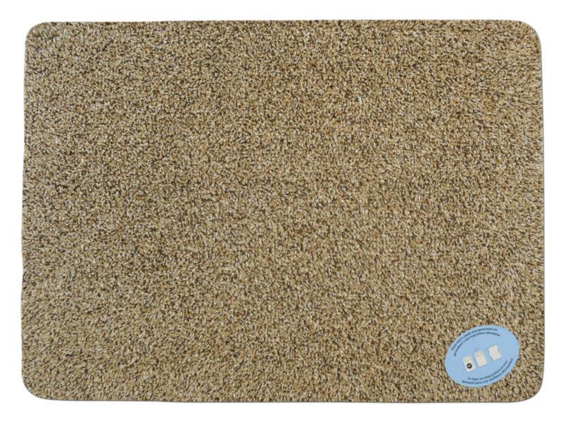 Paillasson en coton 40x55 cm beige