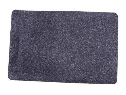Paillasson en coton 50x150 cm basalte