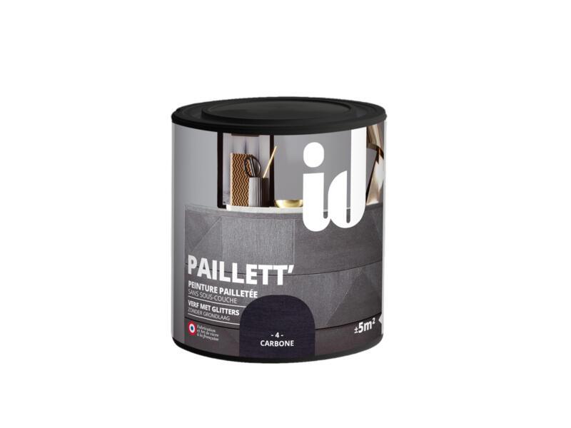 Paillett' meubelverf hout en MDF 0,5l koolstof