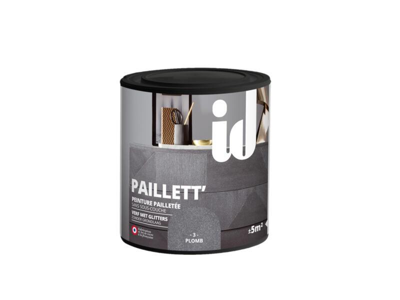 Paillett' peinture meubles bois et MDF 0,5l plomb