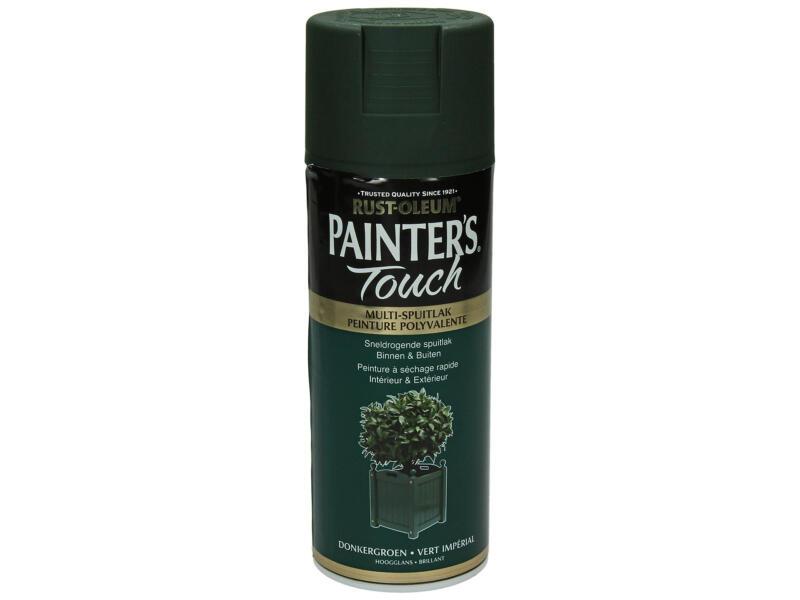 Painter's Touch lakspray hoogglans 0,4l donkergroen