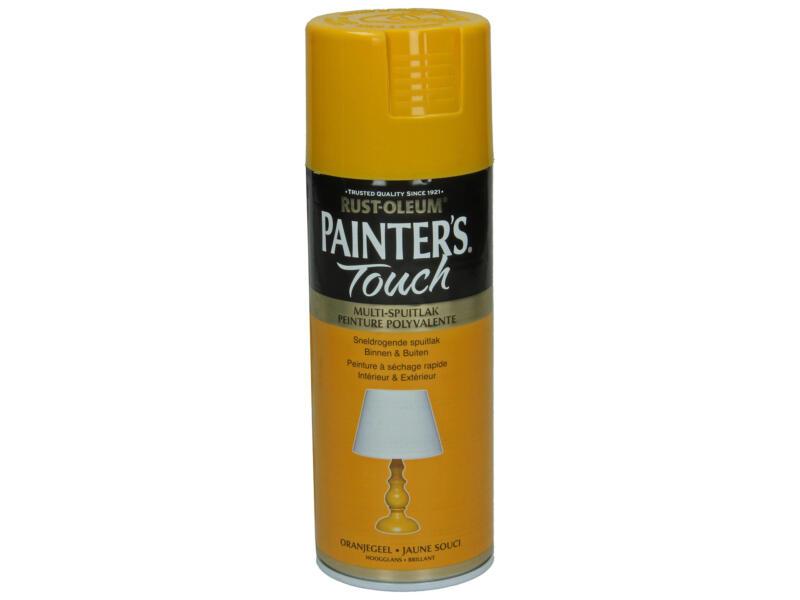 Painter's Touch lakspray hoogglans 0,4l oranjegeel