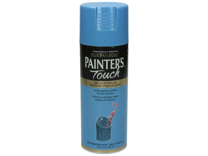 Painter's Touch lakspray hoogglans 0,4l zwembadblauw