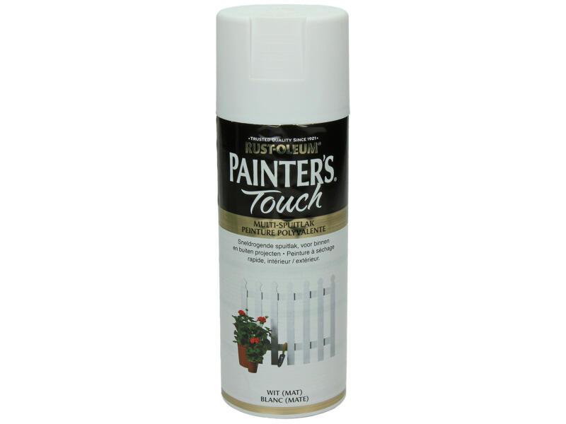 Painter's Touch lakspray mat 0,4l wit