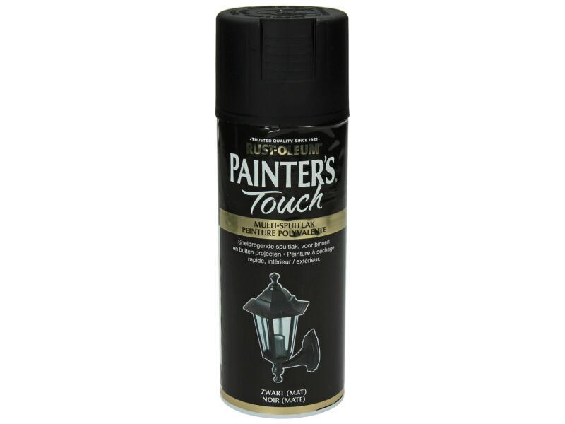 Painter's Touch lakspray mat 0,4l zwart