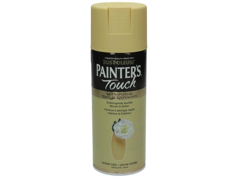 Painter's Touch lakspray zijdeglans 0,4l ivoor geel