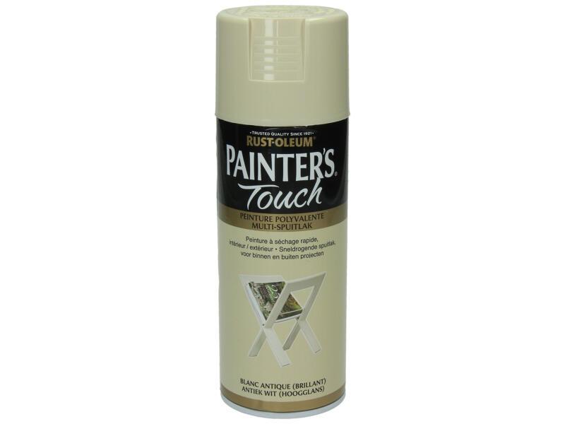 Painter's Touch laque en spray brillant 0,4l blanc antique