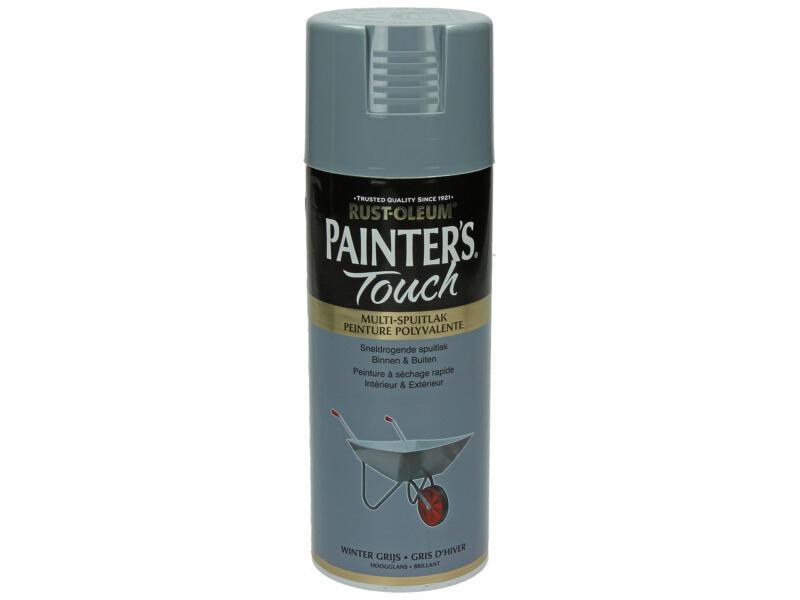 Painter's Touch laque en spray brillant 0,4l gris d'hiver