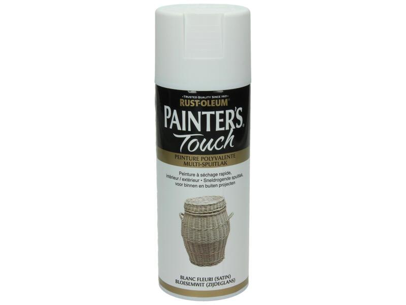 Painter's Touch laque en spray satin 0,4l blanc fleuri