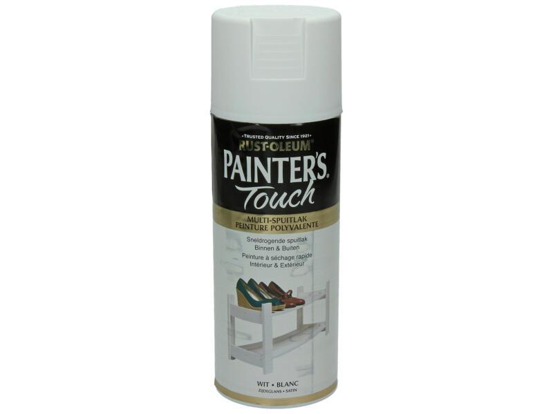 Painter's Touch laque en spray satin 0,4l blanc