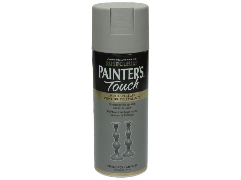 Painter's Touch laque en spray satin 0,4l gris silex