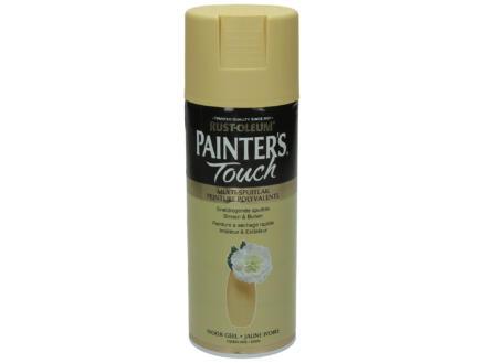 Painter's Touch laque en spray satin 0,4l jaune ivoire
