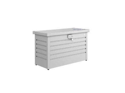 Biohort PakketBox 100 kussenbox 101x46x61 cm zilver metallic