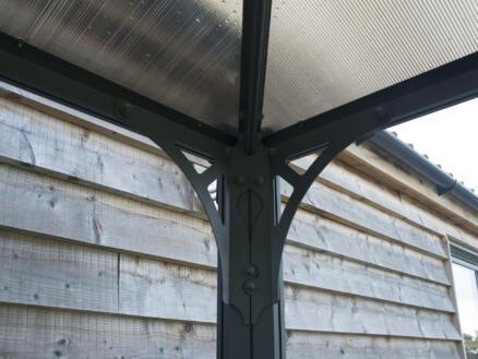 Palram Palermo 4300 paviljoen 429x429 cm
