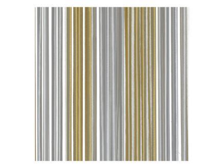 Sun-Arts Palermo deurgordijn 100x232 cm transparant en bruin
