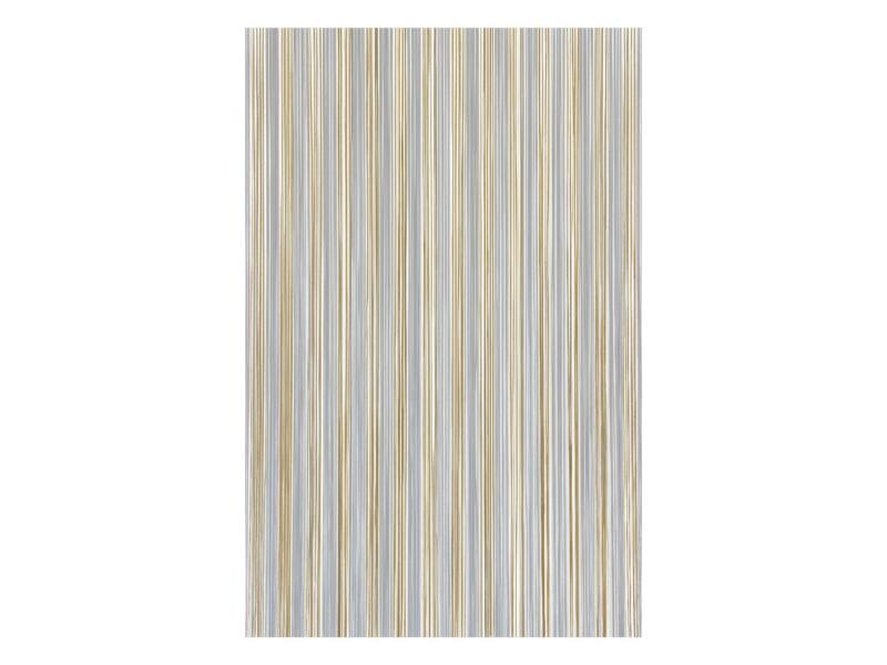 Sun-Arts Palermo deurgordijn 90x210 cm transparant en bruin