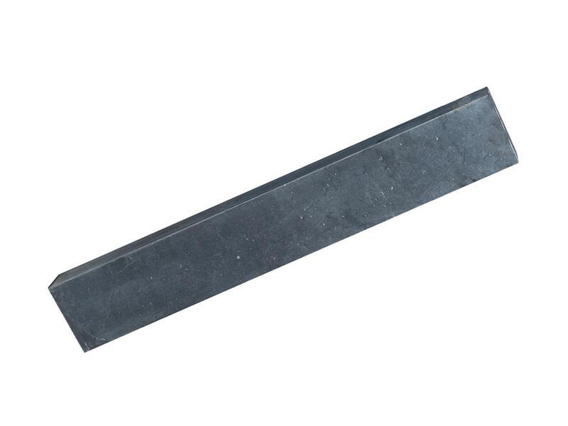 Palissade 120x16x8 cm blauwe hardsteen
