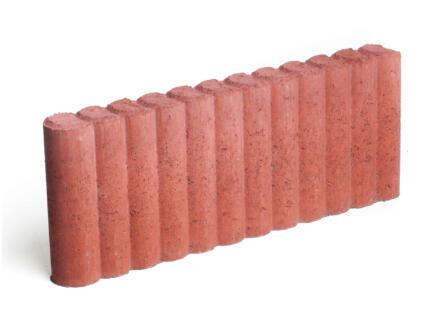 Palissade 50x20x6 cm rood