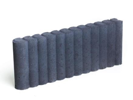 Palissade 50x20x6 cm zwart