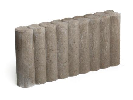Palissade 50x25x8 cm grijs