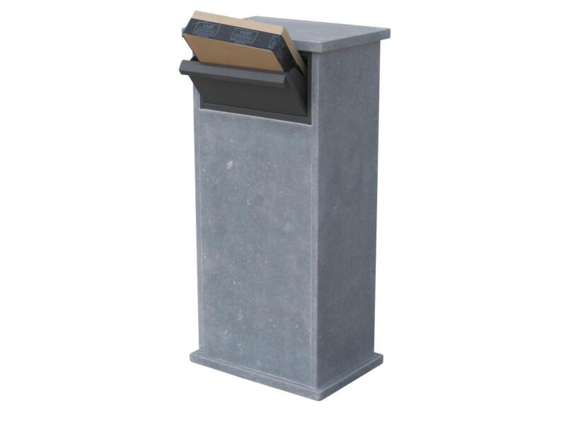 VASP Palma Parcel brievenbus belgische blauwe steen