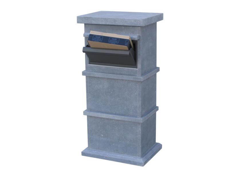 VASP Pamplona Parcel brievenbus belgische blauwe steen