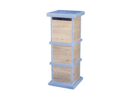 VASP Pamplona Woodlook boîte aux lettres pierre bleue